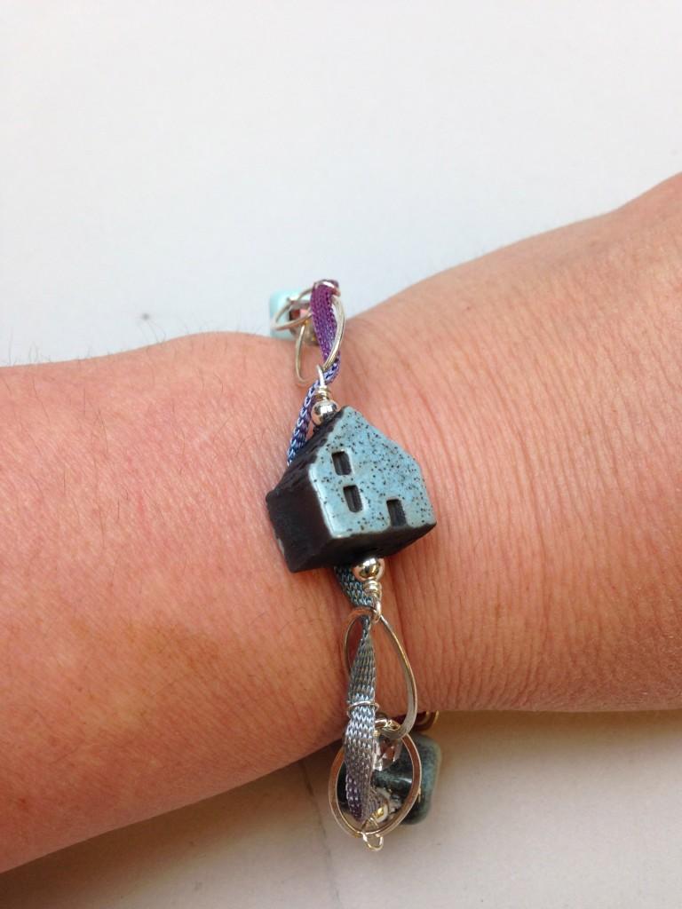 The bracelet on me